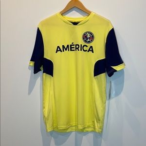 NEW CA Club América Men's Polyester Soccer Jersey